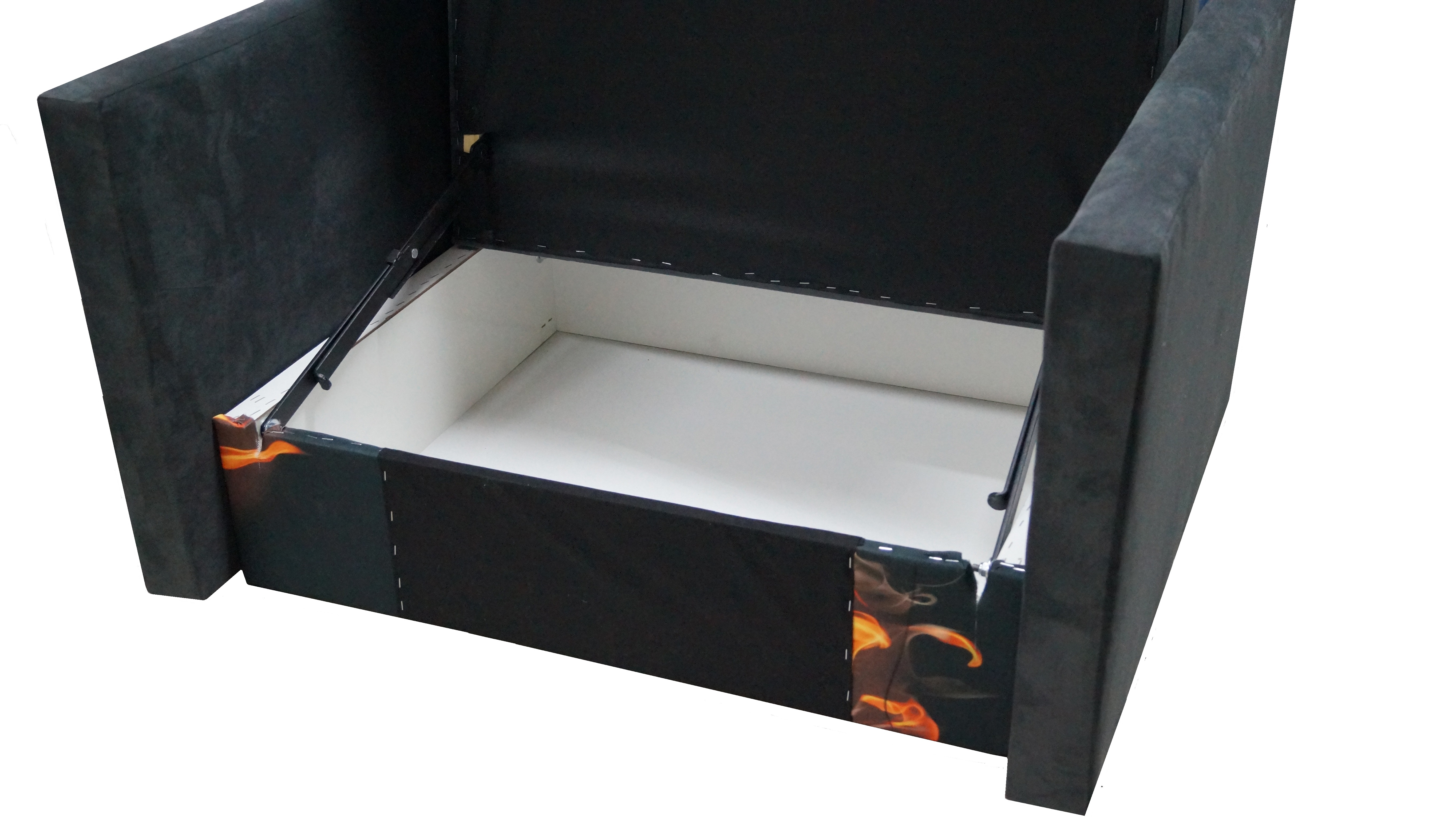 Jednoosobowa amerykanka sofa klocek motyw for Sofa jednoosobowa
